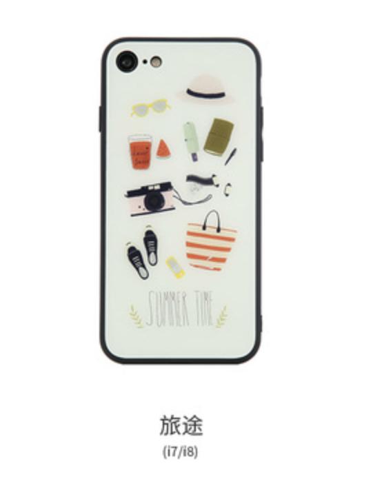 拾光系列手機殼-旅途-iphone 8 X