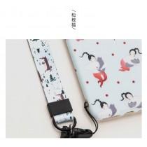 夜森林系列手機掛繩-松枝狐( 20 X445mm )
