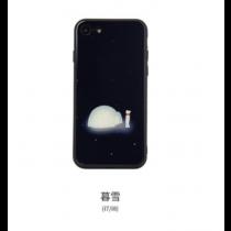 拾光系列手機殼-暮雪-iphone8