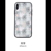 拾光系列手機殼-青芽-iphone 8 X