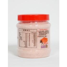喜馬拉雅山結晶岩鹽(玫瑰鹽)6罐/組(500公克細鹽/3罐, 475公克粗鹽/3罐)